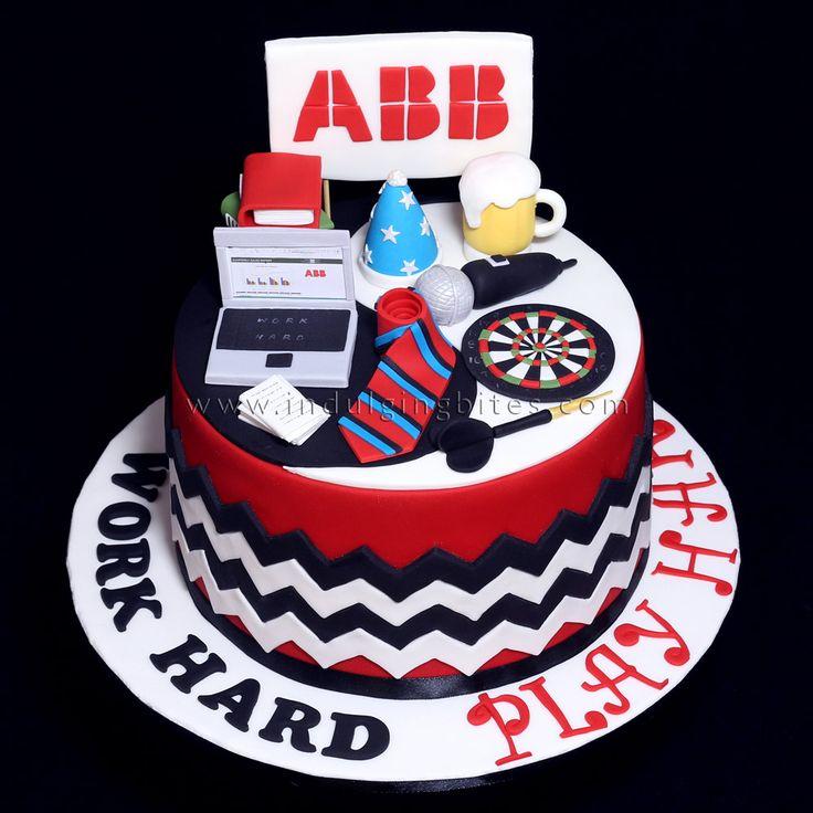 Personalized New Office Celebration Cake