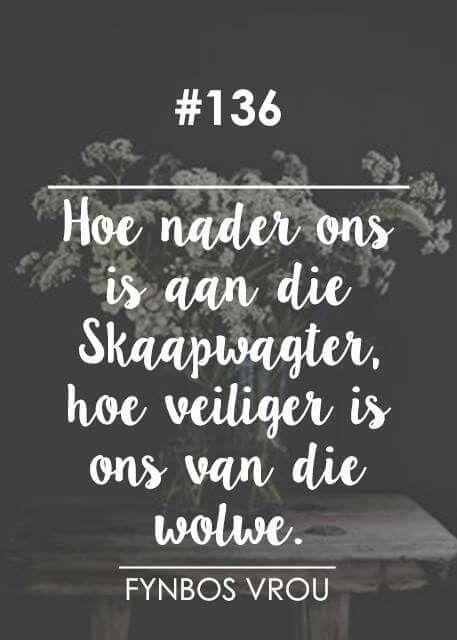 Veilig naby ons Skaapwagter (Die Here is my Herder) __[Fynbos Vrou/FB] # 136 #Afrikaans #iBelieve