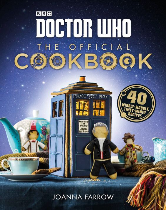 Want to bake a gingerbread Peter Capaldi and some Dalek cupcakes?  The official #DoctorWho Cookbook!
