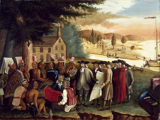 Penn's Treaty with the Indians Edward Hicksc. 1830-1840