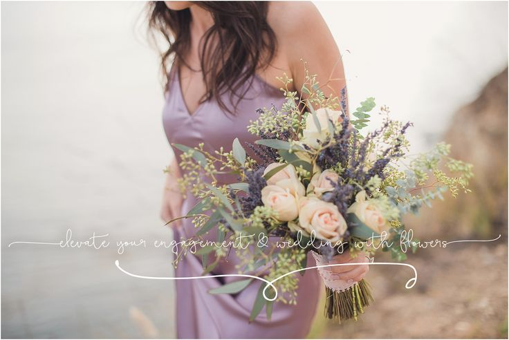 Elevate your engagement session & wedding with flowers - by Sun & Sparrow photography