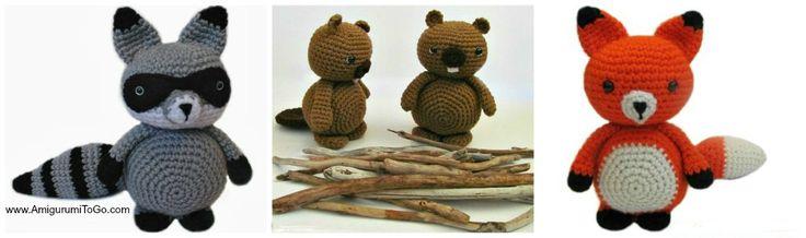 Amigurumi Woodland Animal Patterns Free - Amigurumi To Go! To make Pinter...