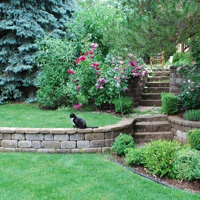 ideas about tiered landscape on   retaining walls, tiered backyard landscaping ideas