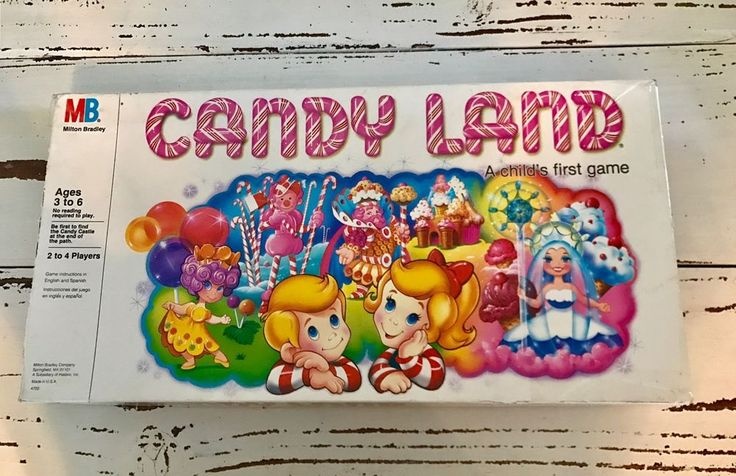Vintage Candy Land Board Game, Milton Bradley 1984 Original and Complete Set  | eBay
