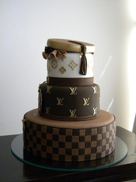 Louis Vuitton Cake by Ana Beatriz Carrad