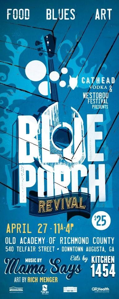 Blue Porch Revival | Font inspiration