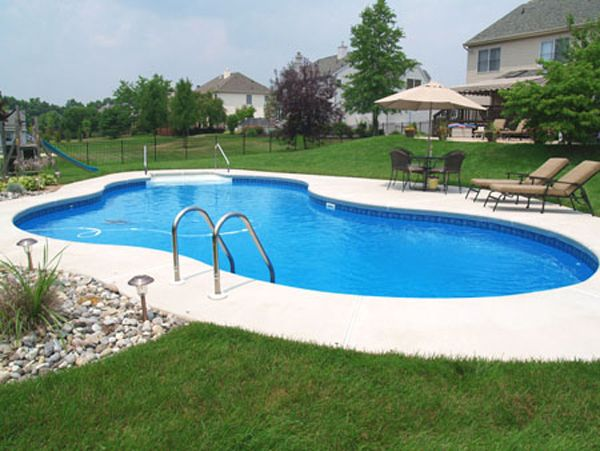 Inground Pools Shapes top 25+ best fiberglass inground pools ideas on pinterest