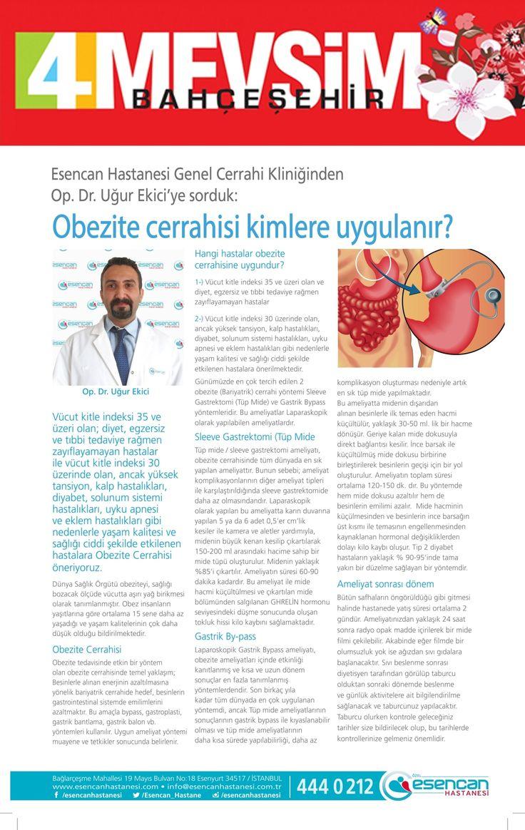 4 Mevsim Bahçeşehir Dergisi - uğur ekici röportajı
