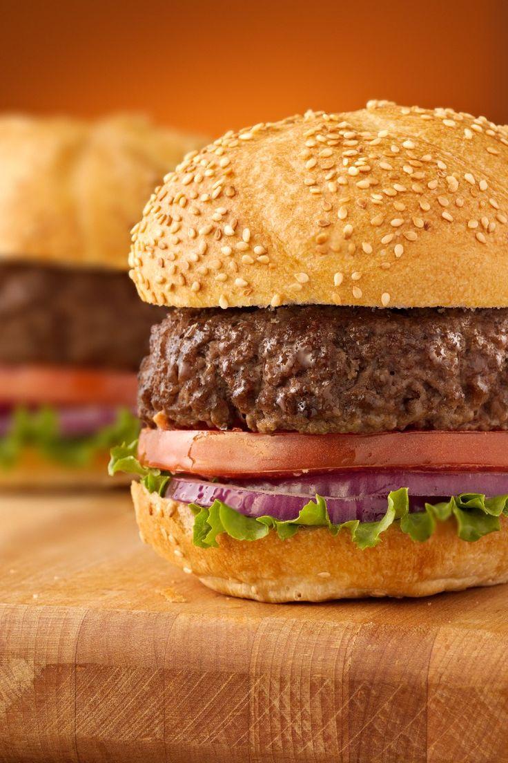 DINNER: Weight Watchers Juicy Hamburgers (4 points)
