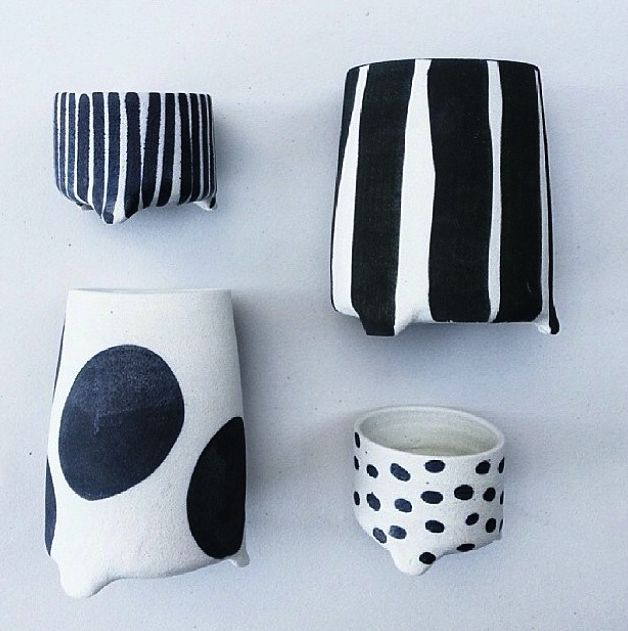 Bridget Bodenham vases (or use them for storing kitchen utensils like I do)