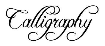 Calligraphy Alphabet - Free Calligraphy Printable Alphabets