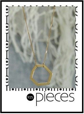 Beautiful range of geometric jewellery available for any occasion.