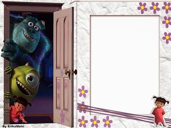 Monsters Inc.: Free Printable Invitations or Cards.