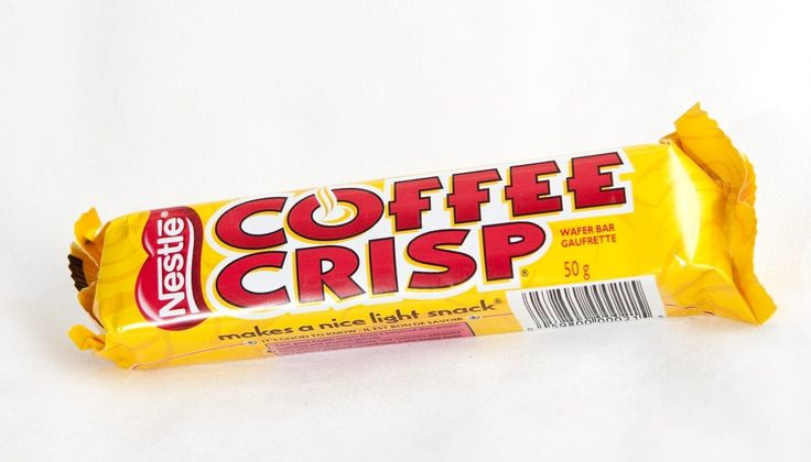 Coffee Crisp can only be found in Canada