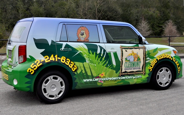 Scion car wrap by TechnoSigns