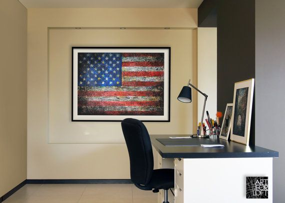 Vintage American Flag Wall Art 103 best flag in interior images on pinterest | union jack decor