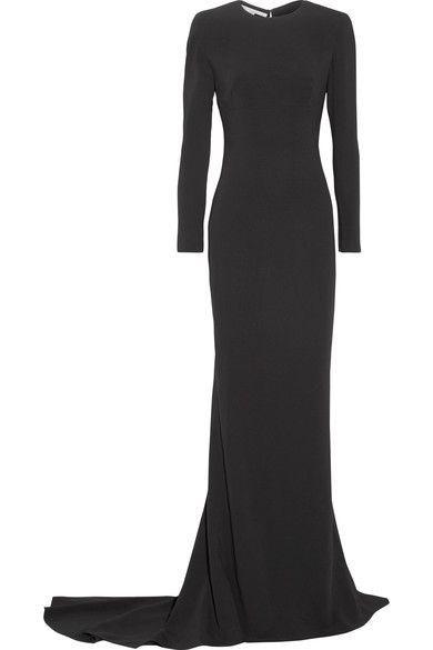 Stella McCartney - Renee Cutout Stretch-cady Gown - Black