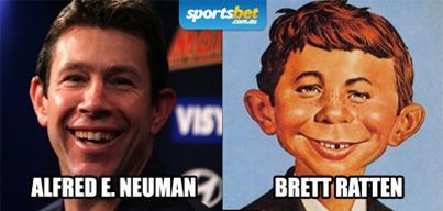 Look Alikes - Alfred E. Neuman & Brett Ratten - Sportsbet.com.au