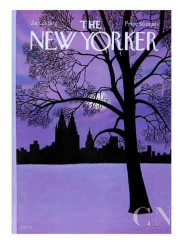 The New Yorker Cover - January 22, 1972 Poster Print by Charles E. Martin at the Condé Nast Collection