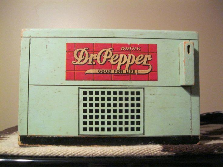 Vintage Dr Pepper Cooler Radio | eBay