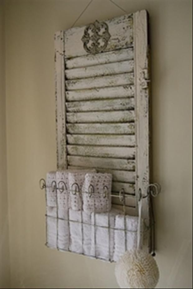 pinterest shutters | 20 uses for old shutters | DIY Around the home