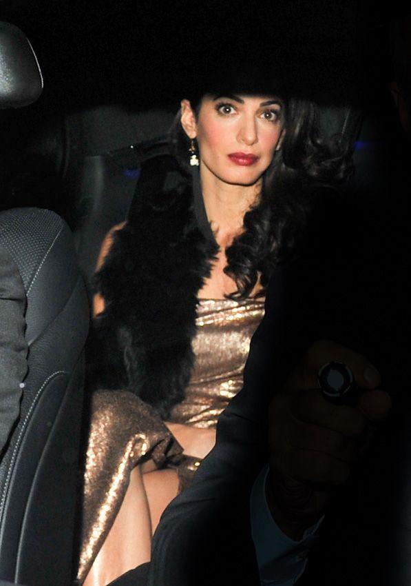 ¡Otra fiesta por su boda! George y Amal Clooney reúnen a sus familiares y amigos en Inglaterra - Foto 1