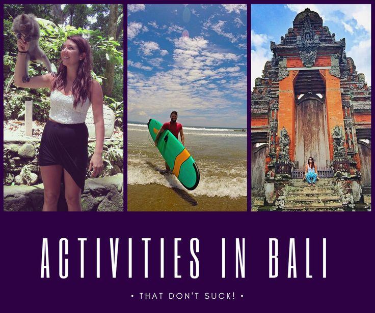 Activities in Bali that don't suck    http://bonvoyagebitches.com