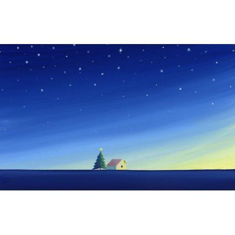葉祥明  アートグラフ【新しい夜明け】太子サイズ