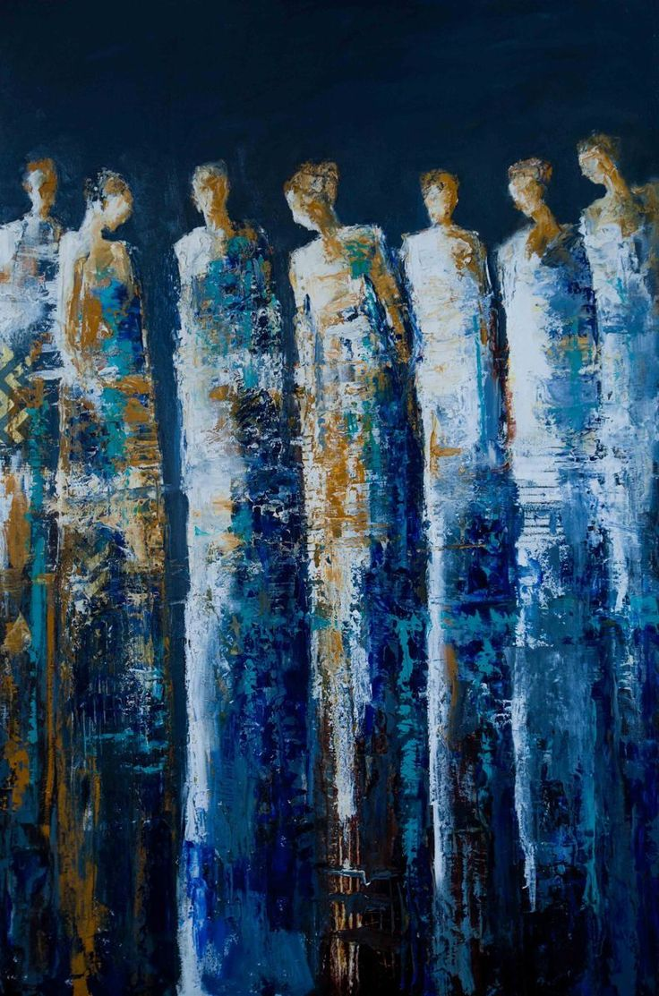 """Contemporary Mixed Media - """"The Deep"""" (Original Art from Shelby McQuilkin)"""