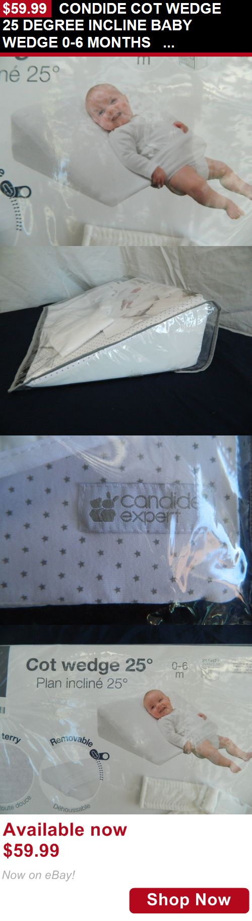 Baby Safety Sleep Positioners: Condide Cot Wedge 25 Degree Incline Baby Wedge 0-6 Months Gm490 BUY IT NOW ONLY: $59.99
