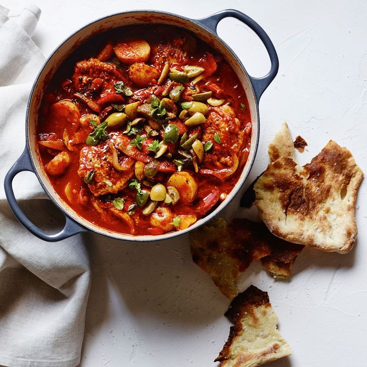 Chicken & Chorizo Stew-  (Williams-Sonoma) VERY GOOD! would be great as an appetizer for guests! (I used 1/2 chorizo & ½ Connecuh sausage.)