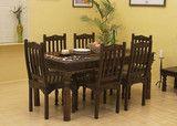 Jaipur Dining Set - Indian Solid Sheesham Wood Furniture | Saraf Furniture
