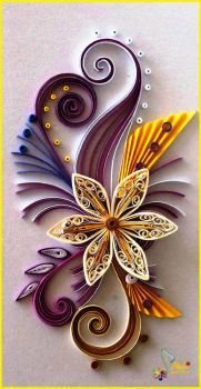 Starburst Quilled Card (50 pieces)