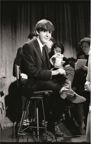 Paul McCartney  © KEN REGAN, 1964.    Backstage at the Ed Sullivan show in February