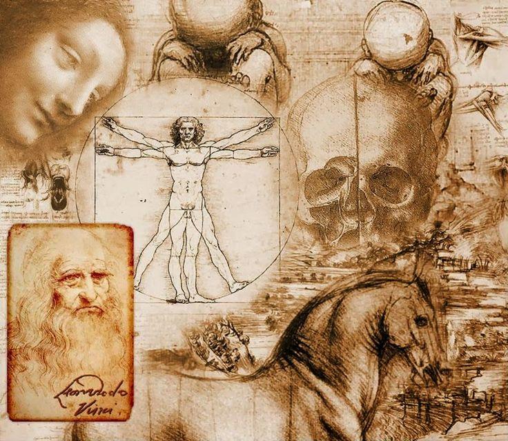 ► Leonardo Da Vinci ~ Se vuoi star sano..