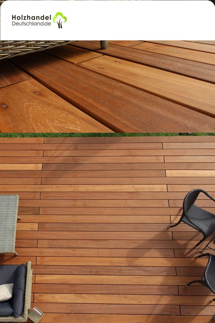Bangkirai Terrassendielen, 20x20 mm, KD, glatt/glatt, PREMIUM ...