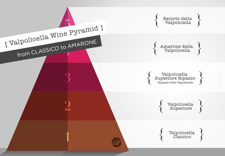 A visual guide to Valpolicella wine compared to the world renown Amarone della Valpolicella. Learn to identify the best value Valpolicella wines by classification.