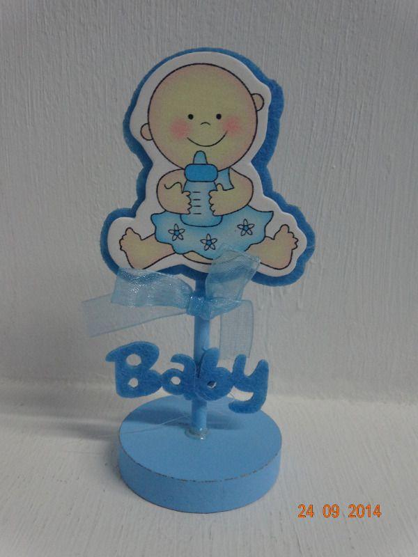Porta tarjeta recordatorio para Baby Shower. #BabyShowerNinoCali #BabyShowerMedellin