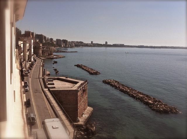 Southern #Italy, #seaview in #Taranto, #Puglia region
