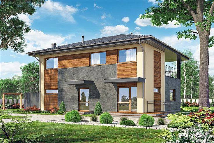 projekt Budynek usługowo-mieszkalny K-105 KRF2777