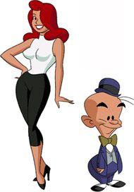 the television crossover universe kltpzyxm cartoon