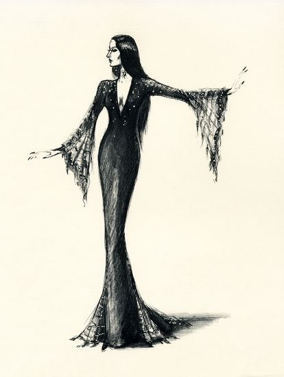 FILM   Impressa Art-Film Opera Ballet Theatre Collectibles-Design Art Sketches  Addams Family memorabilia collectibles art - Nureyev Baryshn...