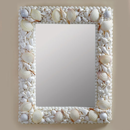 Triton Sea Shell Mosaic Wall Mirror By Two S Company Or A Craft Idea For The Home Pinterest Shells And