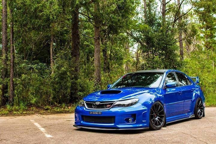 Slammed Sti Vrrroom Vrooom Pinterest Subaru