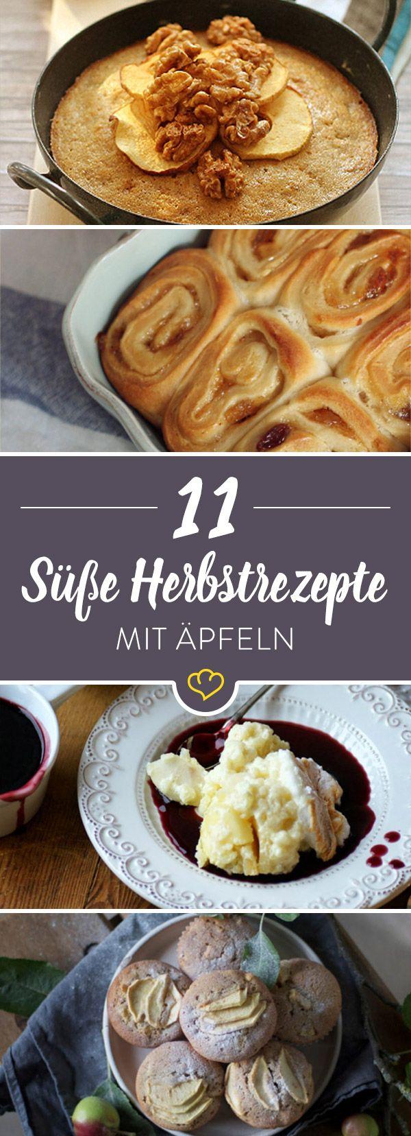 10 Foodblogger verraten ihre liebsten Apfel-Rezepte für gemütliche Herbstnachmittage.