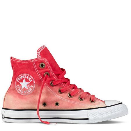 Chuck Taylor #Converse  All Star High Top #Chucks  #sneakers Dip Dyed