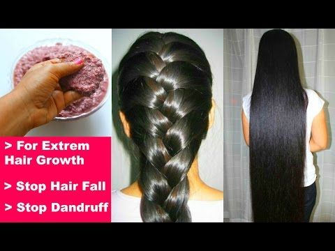 How to Grow Your Hairs REALLY FAST Naturally: DIY Hair Mask: Thick Hairs: Stop Hair Fall, Dandruff - YouTube