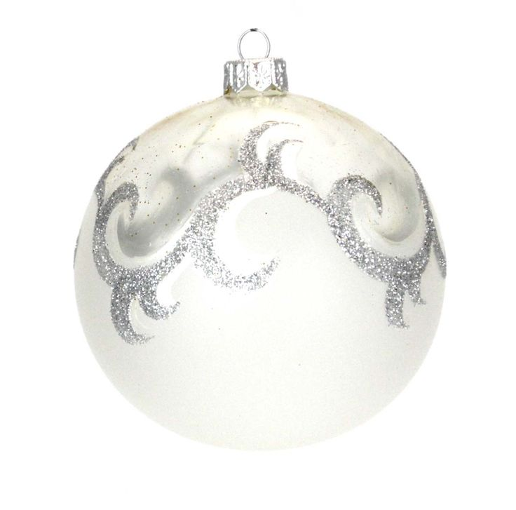 """Ukraine Ornaments Style 1013 4"""" Diameter Handcrafted in Ukraine, ornaments from Elite Ornaments are unlike any other in the world. Each ornament is blown and shaped by skilled artisans before being ha"""