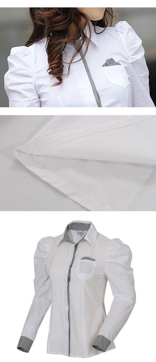 Office shirt korean