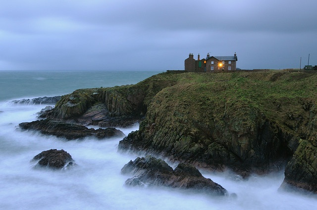 Earl's Lodge, Boddam, Aberdeenshire (Race to Up Helly Aa 2013)